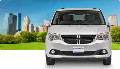 Dodge Grand Caravan Wheelchair Van Entervan