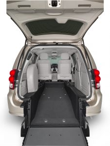 Dodge Chrysler Rear Entry Hatch Rear View