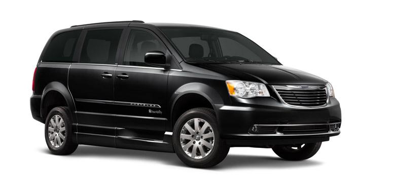 Dodge Chrysler Rear Entry Wheelchair Van