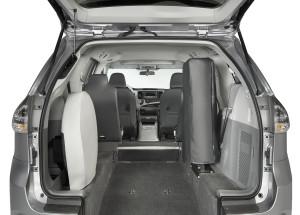 Toyota Rear Entry Hatch Rear View